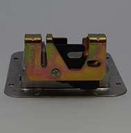 "Large Flush Size, Rotary Paddle Handle, .250"" Striker Locking, Stainless Steel, Water Seal. Striker Separate"