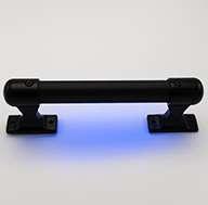 Safetylite® Black Aluminum Knurled Rail
