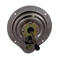 """The original D Ring, locking, large cup with mounting holes and 5/16"""" sq shank (customer to specify shaft length desired when order is placed, max. 4 5/8"""". Latch is made of polished 304 stainless steel"""
