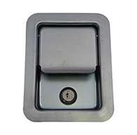 Large Flush Size, Two Point Paddle Handle, Locking, No Mounting Holes