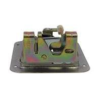 "Large Flush Size, Rotary Paddle Handle, .50"" Striker, Locking, Stainless Steel. Striker Separate"