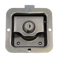 Mini Size Single Point Paddle Handle, 30° Powder Metal Bolt, Locking