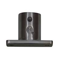 Stainless Steel Base Stanchion with Rivet Hole