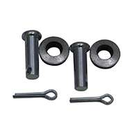 Guardian® compression latch, single point, black powder coat, mounting holes. Right hand. Codeable cylinder ordered separately