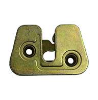 """Upper bunk rotary latch, right hand, zinc plated. Accepts .50"""" striker."""