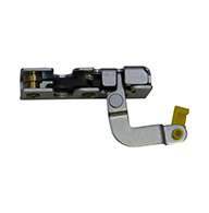 """Full size 2 stage rotary latch with a parallel or perpendicular pull lever arm and rod clip, left hand, zinc plated. Accepts .25"""" striker."""