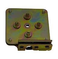 "Series #459 slam latch, zinc plated, blind mount. Accepts .550"" diameter striker."