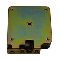 """Series #459 slam latch, zinc plated, with spacer. Accepts .550"""" diameter striker."""