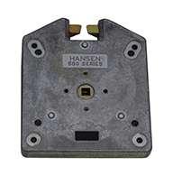 Series #550 slam latch, zinc plated, large, non-locking.