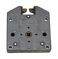 Series #550 slam latch, zinc plated, small, non-locking.