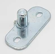 Striker bolt with mounting plate, .550 diameter.
