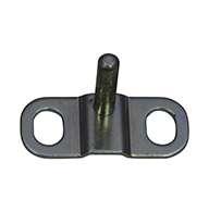 Striker bolt Kit with mounting plate, .375 Diameter Post
