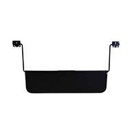 """Sewn, 8"""" x 28"""", dual mount brackets with long rods."""
