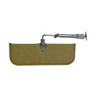 """Sewn, 6"""" x 17"""", center mount with telescoping rod."""