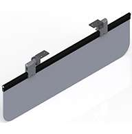 "Plexiglass, 13% tinted, 6.5"" x 24"", short, dual mount brackets."