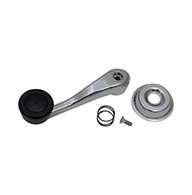 Chrome handle with vinyl knob #88