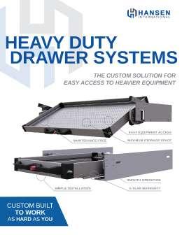 Heavy Duty Drawer Systems